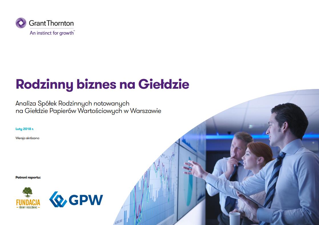 Firmy rodzinne atrakcyjną inwestycją na GPW